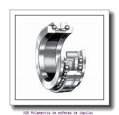 35 mm x 72 mm x 23 mm  NKE 2207 Rolamentos de esferas auto-alinhados