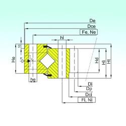 ISB ZR1.25.0770.400-1SPPN Rolamentos de rolos