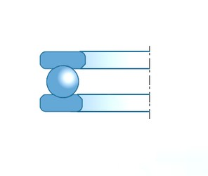 NTN-SNR 51208 Rolamentos de esferas de impulso