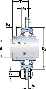 SKF PFD 1. TR Unidades de rolamento