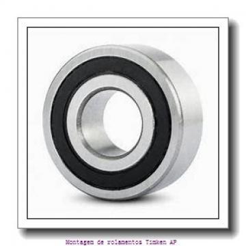 HM124646 -90013         Montagem de rolamentos de rolos cônicos