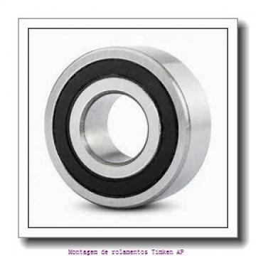 HM124646 -90014         Montagem de rolamentos de rolos cônicos
