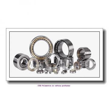 368,249 mm x 523,875 mm x 101,6 mm  KOYO HM265049/HM265010 Rolamentos de rolos gravados