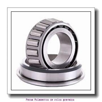 100 mm x 190,5 mm x 57,531 mm  NSK 863X/854 Rolamentos cilíndricos
