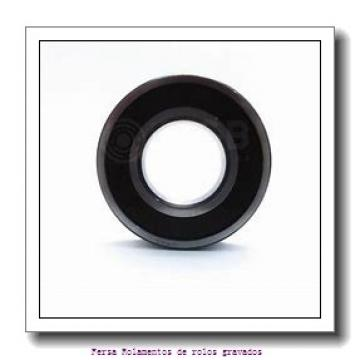 109,538 mm x 158,75 mm x 21,438 mm  KOYO 37431/37625 Rolamentos de rolos gravados
