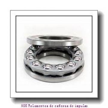 45 mm x 85 mm x 19 mm  NSK HTF045-6a2GNX Rolamentos cilíndricos