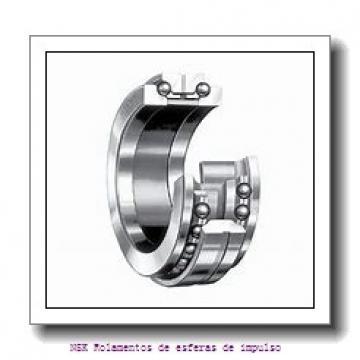 120 mm x 215 mm x 40 mm  NSK NUP224EM Rolamentos cilíndricos