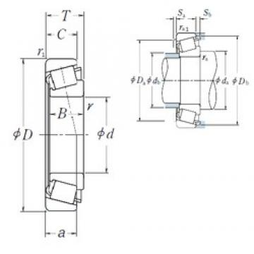430 mm x 720 mm x 120 mm  NSK R430-1 Rolamentos cilíndricos