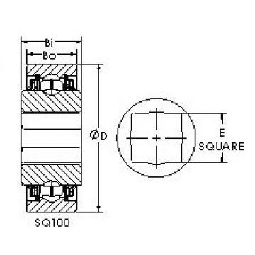 AST SQ111-108 Rolamentos de esferas profundas