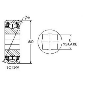AST SQ1208-014 Rolamentos de esferas profundas