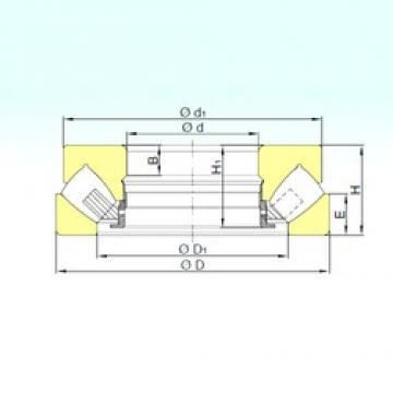 460 mm x 800 mm x 77 mm  ISB 29492 M Rolamentos de rolos