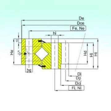 ISB ZR1.25.0849.400-1SPPN Rolamentos de rolos