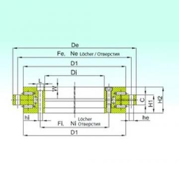 ISB YRT 580 Rolamentos de rolos