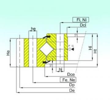 ISB ER1.50.2810.400-1SPPN Rolamentos de rolos