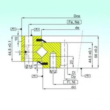 ISB ZR1.14.0744.201-3SPTN Rolamentos de rolos