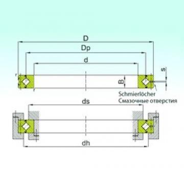 180 mm x 225 mm x 22 mm  ISB SX 011836 Rolamentos de rolos