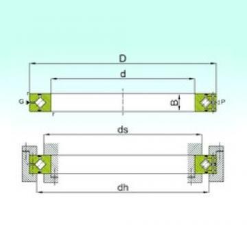 110 mm x 160 mm x 20 mm  ISB CRBH 11020 A Rolamentos de rolos