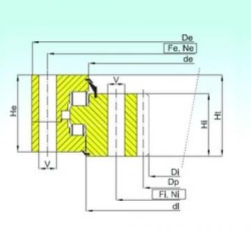 ISB ZR3.32.4000.400-1SPPN Rolamentos de rolos