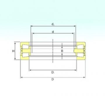 180 mm x 280 mm x 20 mm  ISB 353162 Rolamentos de rolos