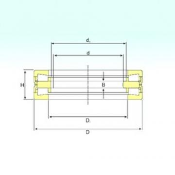 440 mm x 645 mm x 50 mm  ISB 353152 Rolamentos de rolos