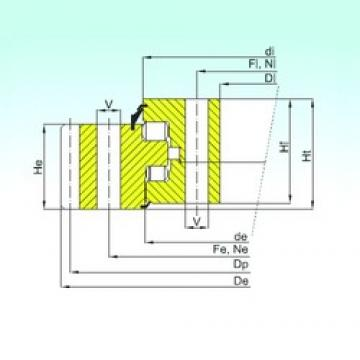 ISB ER3.20.1600.400-1SPPN Rolamentos de rolos
