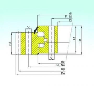 ISB ER3.25.2500.400-1SPPN Rolamentos de rolos
