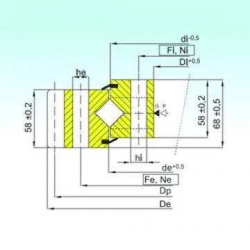 ISB ER1.20.1904.400-1SPPN Rolamentos de rolos
