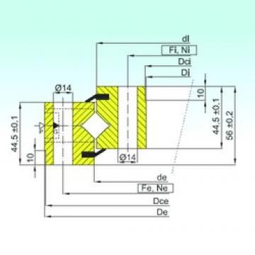 ISB NR1.14.0844.200-1PPN Rolamentos de rolos