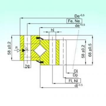 ISB ZR1.20.1904.400-1SPPN Rolamentos de rolos