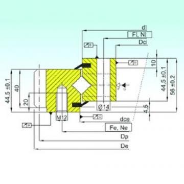 ISB ER1.14.0414.201-3STPN Rolamentos de rolos