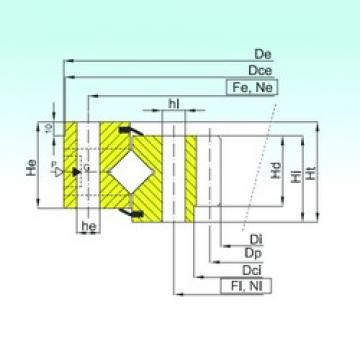 ISB ZR1.45.1606.400-1SPPN Rolamentos de rolos