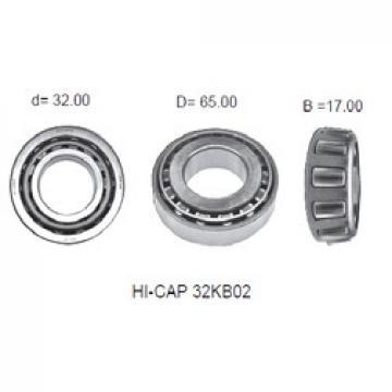 32 mm x 65 mm x 17 mm  KOYO HI-CAP 32KB02 Rolamentos de rolos gravados