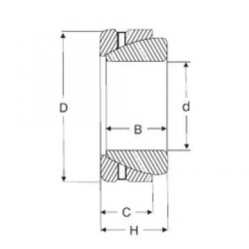 34,925 mm x 55,575 mm x 19,558 mm  SIGMA GAZ 106 SA Rolamentos simples