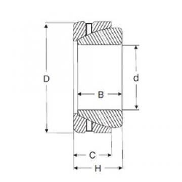 57,15 mm x 90,5 mm x 32,258 mm  SIGMA GAZ 204 SA Rolamentos simples