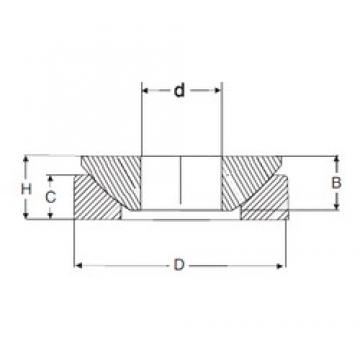 12 mm x 35 mm x 9,3 mm  SIGMA GE 12 AX Rolamentos simples