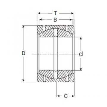 31.75 mm x 61,925 mm x 35,306 mm  SIGMA GEZPR 104 S Rolamentos simples