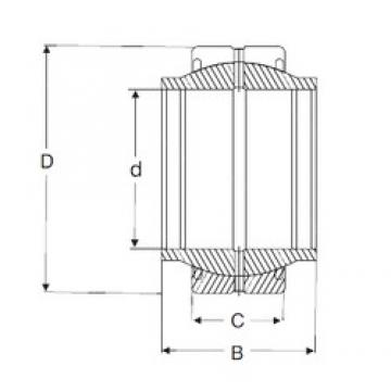 20 mm x 35 mm x 24 mm  SIGMA GEM 20 ES-2RS Rolamentos simples