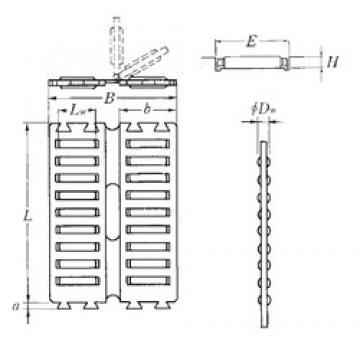 NTN FF3045ZW Rolamentos de agulha