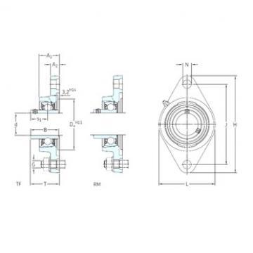 SKF FYT 1.1/2 RM Unidades de rolamento