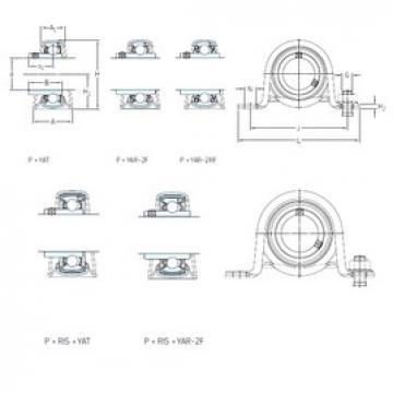 SKF P 1.1/2 FM Unidades de rolamento