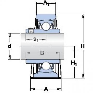 SKF SY 1.1/2 TF/VA201 Unidades de rolamento