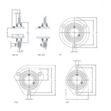 SKF PFT 35 RM Unidades de rolamento