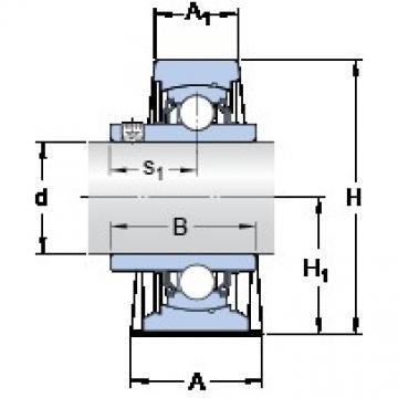 SKF SY 2.15/16 TF/VA228 Unidades de rolamento