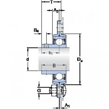 SKF PFD 40 RM Unidades de rolamento